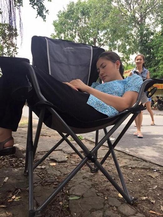 Ngọc Lan'gục ngã' trên phim trường - Tin sao Viet - Tin tuc sao Viet - Scandal sao Viet - Tin tuc cua Sao - Tin cua Sao