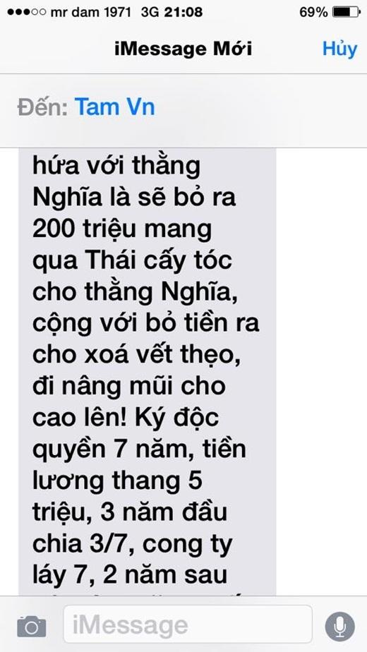 Thomas Tâm Nguyễn cũng khẳng định Nghĩa đã chính thức ký hợp đồng với Quang Lê. - Tin sao Viet - Tin tuc sao Viet - Scandal sao Viet - Tin tuc cua Sao - Tin cua Sao