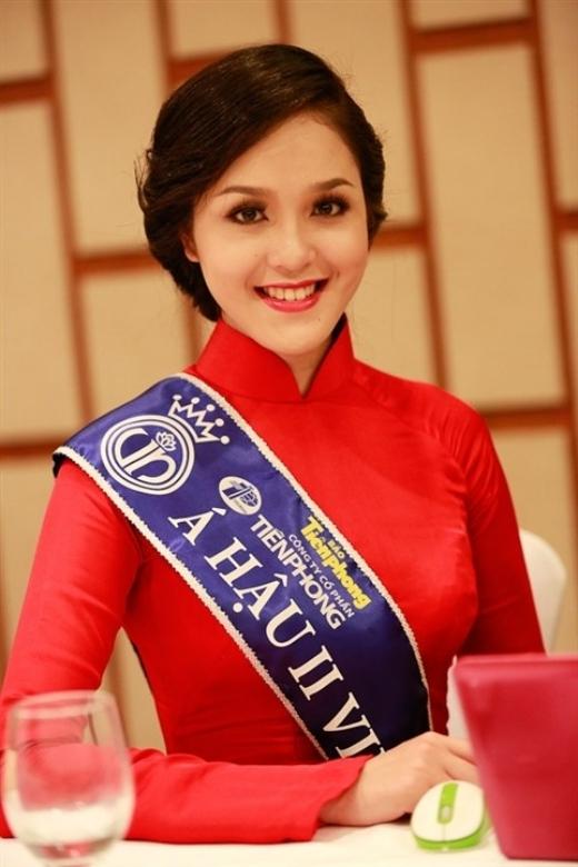 Nhan sắc xinh đẹp của Hoàng Anh giúp cô giành danh hiệu Á hậu 2 cuộc thi Hoa hậu Việt Nam 2012. - Tin sao Viet - Tin tuc sao Viet - Scandal sao Viet - Tin tuc cua Sao - Tin cua Sao