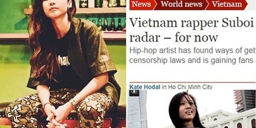 """Suboi là gương mặt tiếp theo khiến người hâm mộ Việt """"nở mày nở mặt"""" khi được trang tin tức nổi tiếng Daily Beast vinh danh là """"nữ hoàng hip hop của Việt Nam"""". - Tin sao Viet - Tin tuc sao Viet - Scandal sao Viet - Tin tuc cua Sao - Tin cua Sao"""