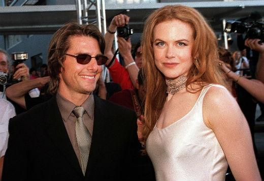 Tom Cruise cùngNicole Kidman kết hôn vào năm 1990 và chính thức li dị vào tháng 2/2001.