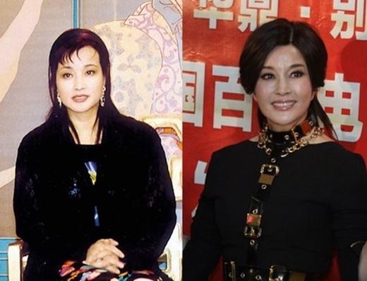 Vẻ đẹp không tuổi của Lưu Hiểu Khánh