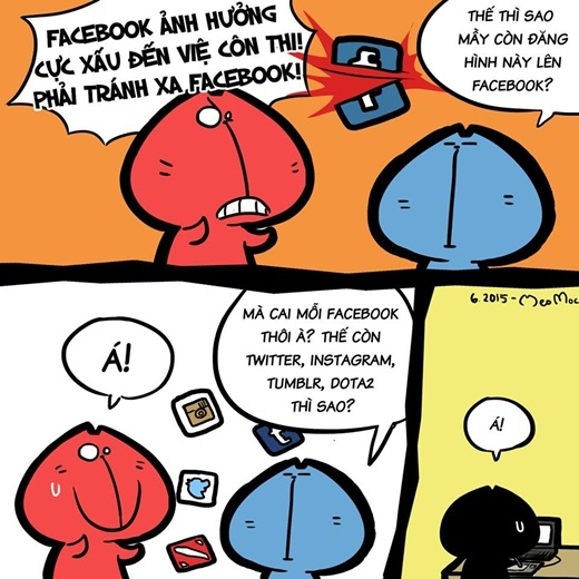 'Lên núi' ôn luyện 'võ công', rời xa chốn 'thị phi' facebook cũng là một cách tập trung hiệu quả.