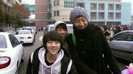 Sehun và Chanyeol thời 'nhóc con'.