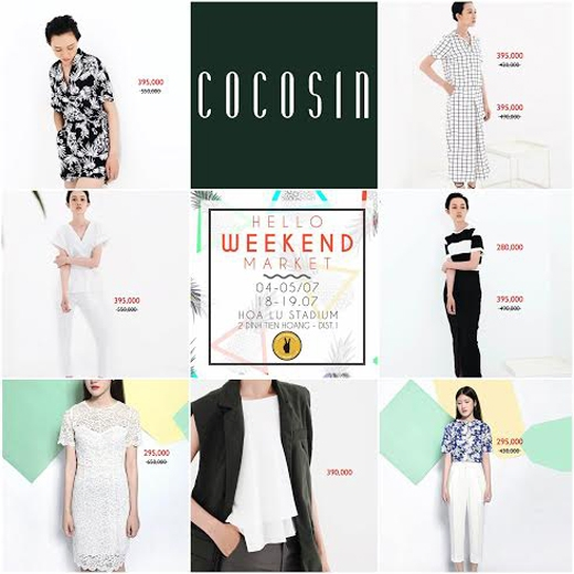 Ngoài ra, khi đến Hello Weekend Market các bạn còn có cơ hội nhận được nhiều ưu đãi mua sắm.