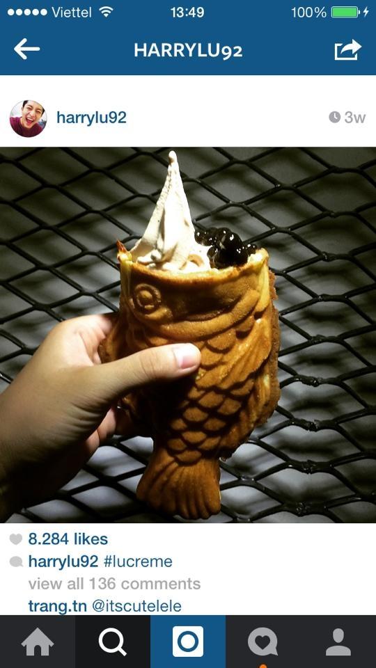 Món kem cá thần thánh trong tuổi thơ của nhiều bạn trẻ nay đã hoành tráng và hấp dẫn hơn rất nhiều. - Tin sao Viet - Tin tuc sao Viet - Scandal sao Viet - Tin tuc cua Sao - Tin cua Sao