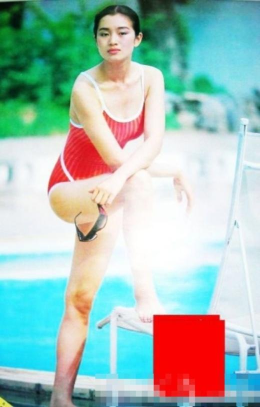 Lý Băng Băng   Thang Duy   Nhan sắc ngày ấy của Củng Lợi với bikini.