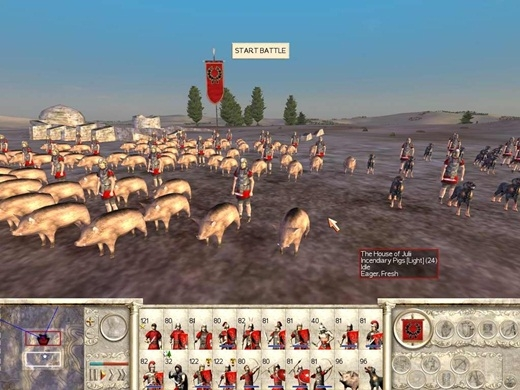 Voi thường rất sợ tiếng kêu của lợn. Lợi dụng điểm này, những nhà cầm quân thời cổ đại thường bỏ đói những chú heo và đem chúng ra để thả về phía đàn voi của phía kẻ thù.