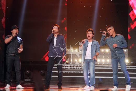 Ngọc Lễ sống lại khoảng thời gian được hát trong band nhạc rock khi cùng nhóm MTV thể hiện Sài Gòn đêm nay. - Tin sao Viet - Tin tuc sao Viet - Scandal sao Viet - Tin tuc cua Sao - Tin cua Sao