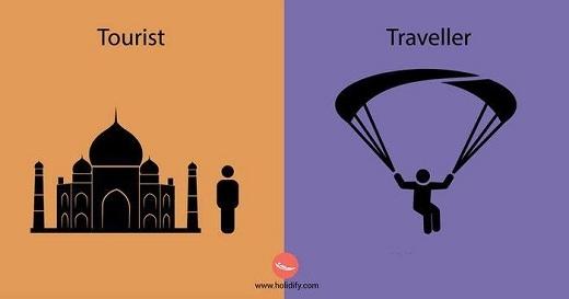 Với khách du lịch, du lịch là đến những nơi nổi tiếng và chụp ảnh lưu niệm. Với phượt thủ, du lịch là những trải nghiệm mới và phiêu lưu mạo hiểm.