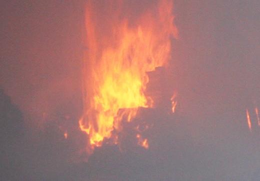 Hiện trường vụ cháy kinh hoàng