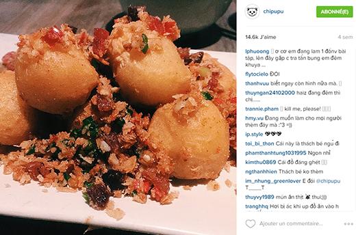 Các bạn fan 'than khóc' mỗi khi thấy Chi Pu đăng ảnh thức ăn vào đêm khuya - Tin sao Viet - Tin tuc sao Viet - Scandal sao Viet - Tin tuc cua Sao - Tin cua Sao