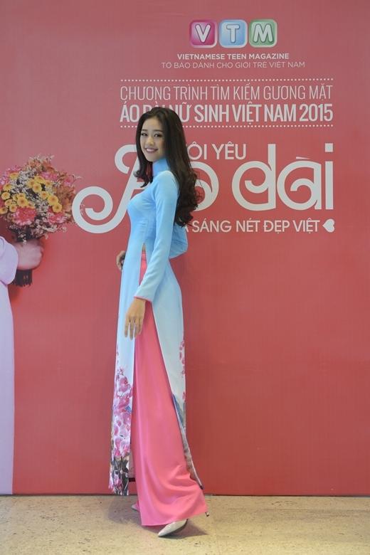 Khánh Vân – Miss Áo dài Nữ sinh Việt Nam 2013 đẹp rạng rỡ