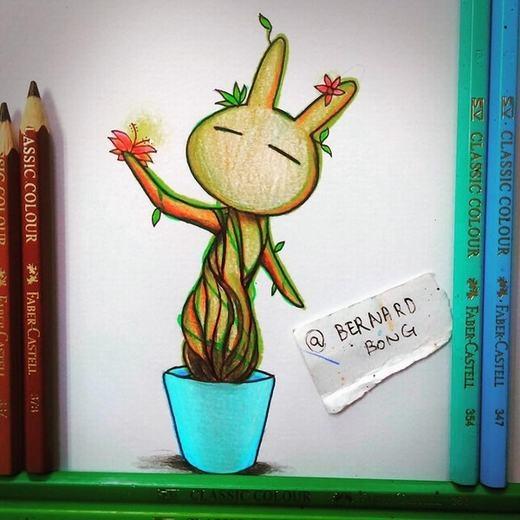 Cây thần Groot phiên bản Tuzki đây!
