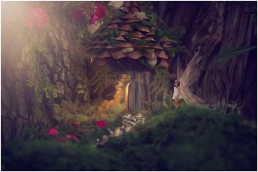 Nàng tiên Fairy bé nhỏ giữa xứ sở thần kỳ.