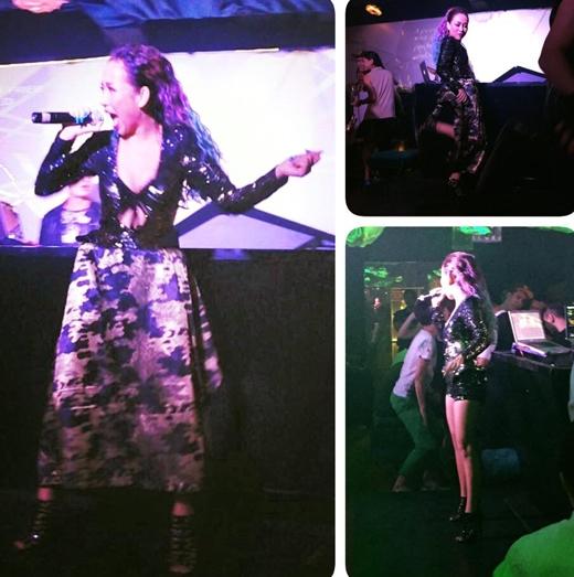 Vừa qua, nữ ca sĩ Thảo Trang đã gặp phải sự cố hi hữu khi đang biểu diễn trên sân khấu. Đó là chiếc quần của cô đột ngột bị rách và ngay lập tức, một người bạn là dancer của cô đã có 'cứu bồ' hết sức tuyệt vời khi đã kịp đưa cho Thảo Trang chiếc khăn để cô choàng lại và tiếp tục phần trình diễn của mình.