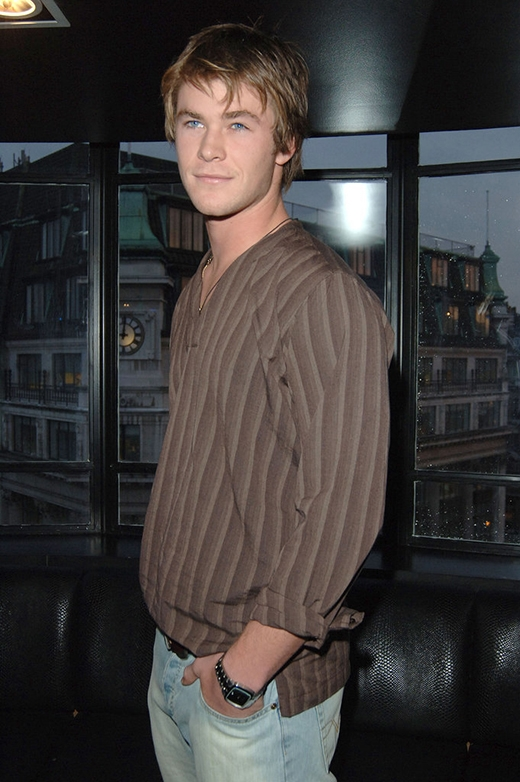 Chris Hemsworth năm 2005
