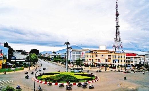 Toàn cảnh thành phố Tây Ninh xinh đẹp, trù phú.