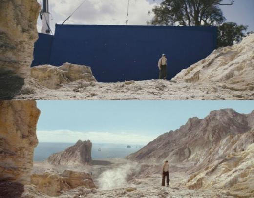 'Thật không thể tin được' khung cảnh hùng vĩ này thực chất chỉ là... tấm phông màu xanh