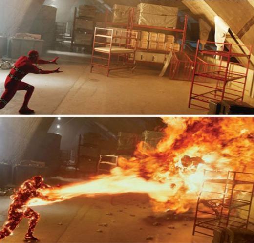 Một cảnh trong X-Men