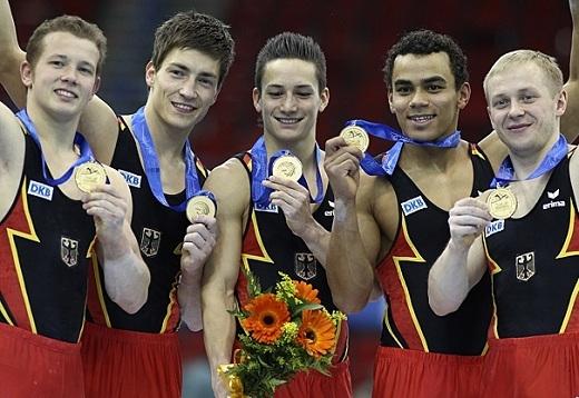 Năm 2008, tại giải vô địch châu Âu 2008,Marcel Nguyễncũng giành huy chương bạc đồng đội nam.