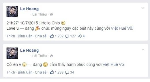 Thành viên điển trai của nhóm nhạc The Men từng chia sẻ sau khi hoàn tất liveshow của nhóm vào cuối năm nay sẽ tính đến chuyện làm đám cưới với Việt Huê. - Tin sao Viet - Tin tuc sao Viet - Scandal sao Viet - Tin tuc cua Sao - Tin cua Sao