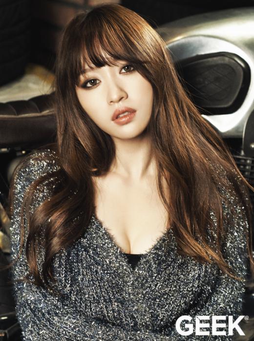 Nổi lên nhờ hiện tượng Up & Down vào cuối năm 2014 vừa qua, Hani (EXID) ngày càng thu hút các fan nhờ vẻ ngoài quyến rũ cùng tính cách 'tưng tửng' cực đáng yêu.