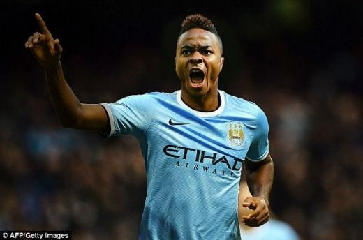 Sterling sẽ chơi cho Man City từ mùa giải 2015 - 2016. Ảnh: AFP.