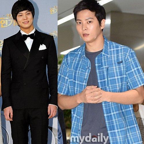 Dù vẫn mang gương mặt thư sinh nhưng Joo Won ngày càng cuốn hút với thân hình vạm vỡ cùng bờ vai rộng đáng chú ý.