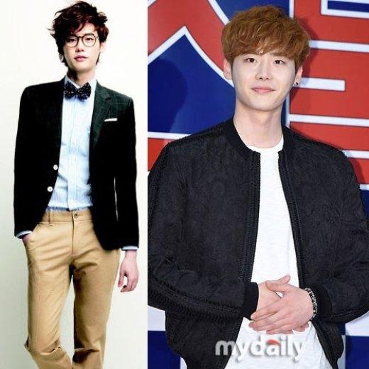 """Khởi nghiệp từ vai trò người mẫu, Lee Jong Suk cũng sở hữu vẻ ngoài """"mình hạt sương mai"""". Tuy nhiên, nam diễn viên Pinocchio ngày càng chứng tỏ độ nam tính nhờ thay đổi ngoại hình vô cùng ấn tượng."""