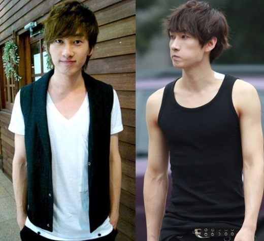 Không kém cạnh 2 cậu bạn cùng nhóm, Eunhyuk (Super Junior) cũng quyết tâm tập luyện để ngày càng hoàn thiện vẻ ngoài của mình.