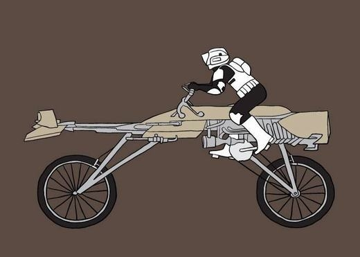 Xe đạp siêu 'dị'