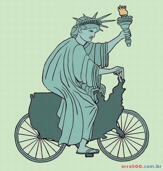 Khi nữ thần tự do đi xe đạp