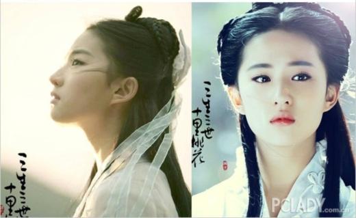 Khi Tam Sinh Tam Thế được chuyển thể thành phim, phần lớn cư dân mạng đã chọn Lưu Diệc Phi vào vai nữ chính Bạch Thiển vì ngoài cô ra không còn ai có đủ nhan sắc và khí chất để vào vai 'cô cô' của tiên giới.