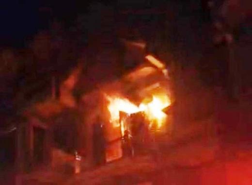 Ngôi nhà bốc cháy 38 lần khiến nhiều người hoang mang. (Ảnh minh họa)