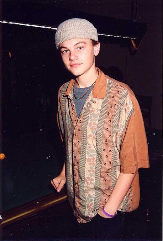 Leonardo DiCaprio năm 1989