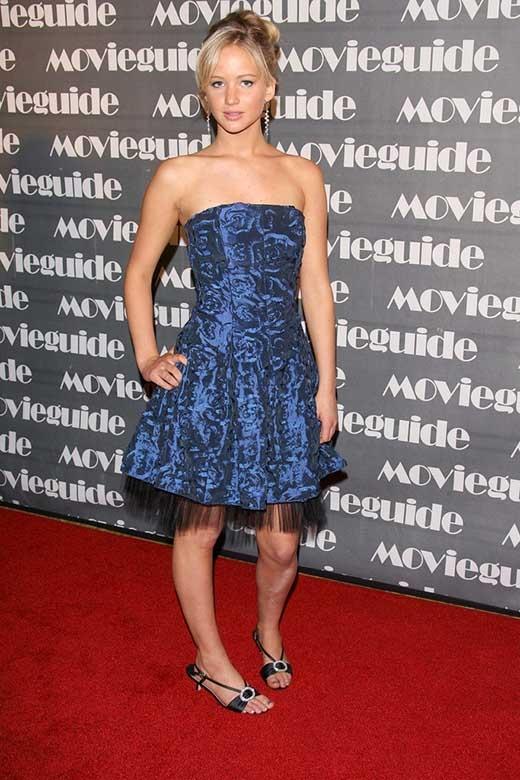 Jennifer Lawrence năm 2007