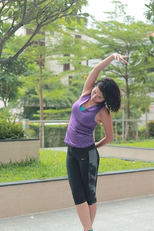 Hoàng My có một cuộc sống cân bằng với ý chí thép được tôi luyện từ trong quá trình rèn luyện thể thao