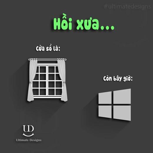 Chắc hẳn nếu hỏi ba mẹ bạn cửa sổ ở đâu, thì câu trả lời mà bạn nhận được là chiếc cửa sổ của một ngôi nhà. Thế nhưng, khi chúng ta nhắc đến cửa sổ, hẳn nhiên trong đầu óc bạn liên tưởng ngay đến một hệ điều hành trên máy tính.