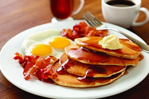 Pancake mặn cũng là một ý tưởng hay cho bữa sáng.
