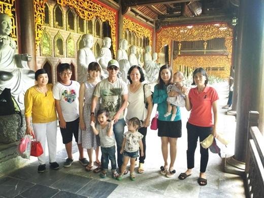 Chuyến đi lần này còn có sự tham gia của các thành viên khác trong đại gia đình của Lý Hải - Minh Hà. - Tin sao Viet - Tin tuc sao Viet - Scandal sao Viet - Tin tuc cua Sao - Tin cua Sao