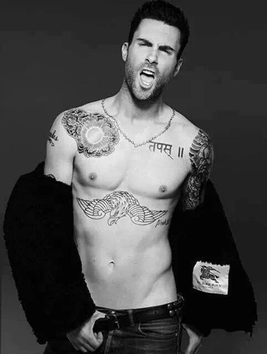Adam Levine có biệt danh là 'sao dang' (dịch là 'Adam tán tỉnh') bởi vì người Trung Quốc cho rằng giọng hát của anh được khơi dậy nhiều điều và họ yêu thích những bức ảnh chụp gợi cảm của nam ca sĩ.