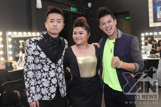 Dù sau hôm nay, kết quả có thế nào đi chăng nữa thì top 3 của Vietnam Idol cũngđã có những kỉ niệm đẹp với nhau. - Tin sao Viet - Tin tuc sao Viet - Scandal sao Viet - Tin tuc cua Sao - Tin cua Sao