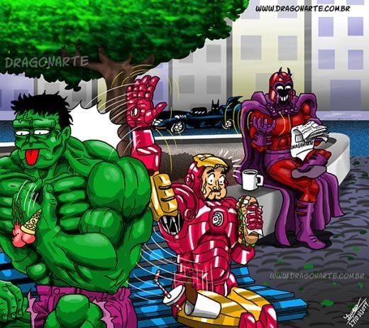 Mỗi siêu nhân một niềmriêng!