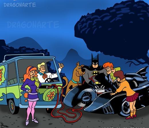 Là siêu xe nhưng cũng có lúc Batman cần đến sức mạnh của những chiếc xe 'cùi bắp'.