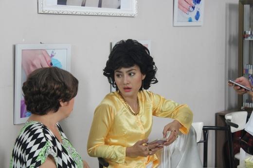 Cách diễn của Ngọc Lan luôn khiến người khác bật cười vì sự hài hước và duyên dáng của cô. - Tin sao Viet - Tin tuc sao Viet - Scandal sao Viet - Tin tuc cua Sao - Tin cua Sao