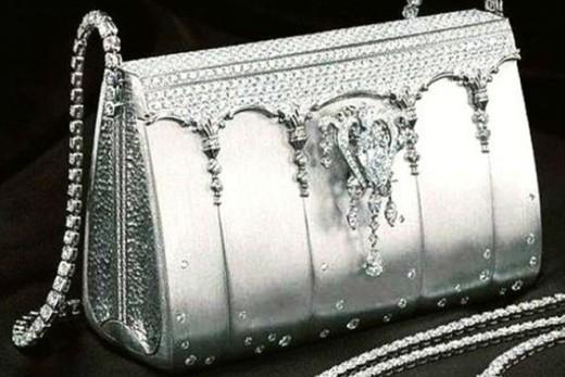 Một công ti túi xách ở Nhật Bản đã cho ra đời một chiếc túi xách trị giá 1 triệu 900 nghìn đô la Mỹ (khoảng 41 tỉ đồng) vào ngày 14 tháng 6 năm 2007. Được làm hoàn toàn từ bạch kim với 2.182 viên kim cương, phần khóa túi được làm từ viên kim cương 8 cara có thể tháo riêng để làm vòng tay hay dây chuyền.