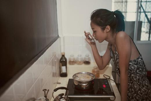 Cũng như bao cô gái trẻ khác, Suboi rất biết cách tự chăm sóc bản thân mình. - Tin sao Viet - Tin tuc sao Viet - Scandal sao Viet - Tin tuc cua Sao - Tin cua Sao