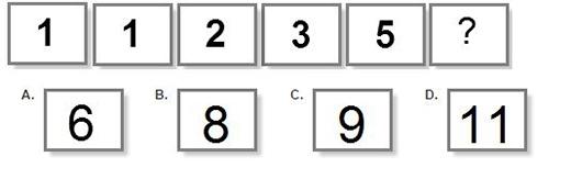 Câu 1: Con số tiếp theo là số nào?