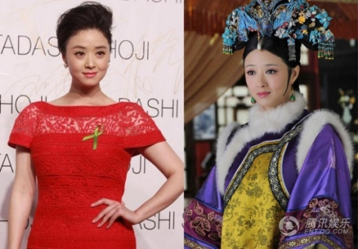 Nữ diễn viên Tưởng Hân luôn tự ti vì cơ thể quá tròn của mình.